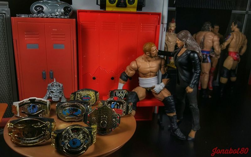 It's not over till i say is over - King of Kings First Eyeem Photo MainEventPics Toyworldordercliq TripleH Wwe Wrestlemania