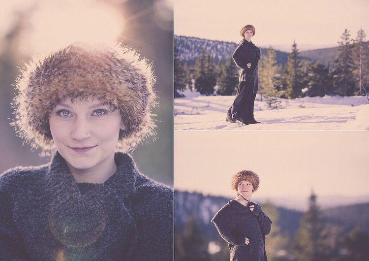 Lindvallen  Portrait Hat WinterFashion Photography