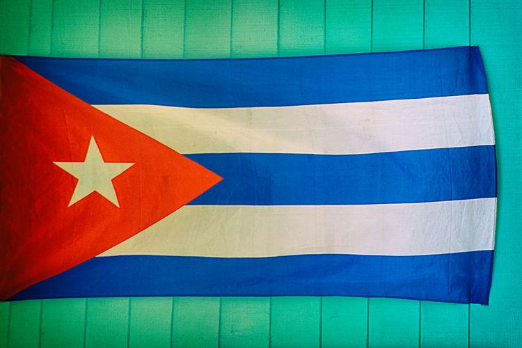 cuban flag ,