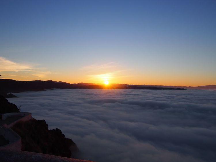 Ensenada Mexico Beauty In Nature Cloud - Sky Idyllic No People Scenics Sky Sun Sunlight Sunrise Tranquility