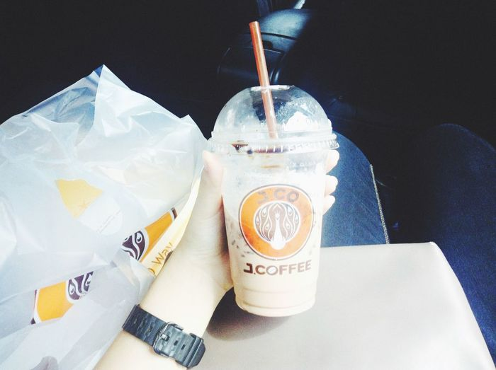 🍩🍩🍩🍩🍩 Donuts Chocolate Covered Donut Holes Hello World Coffee Ice Chocolate