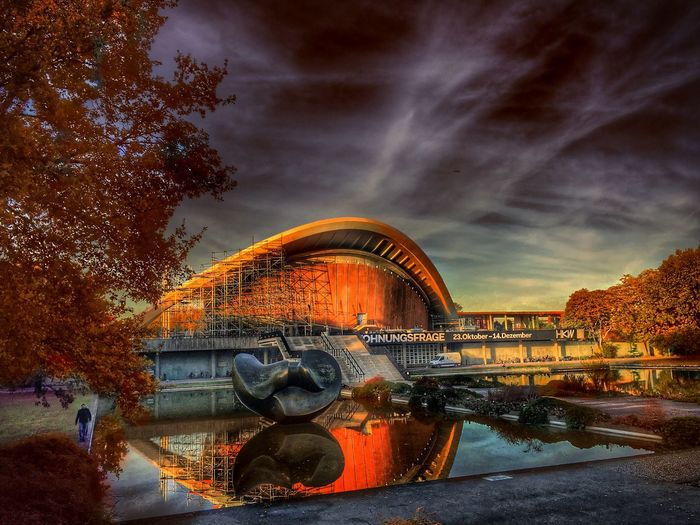 An Autumn View of Haus Der Kulturen Der Welt Berlin Germany🇩🇪 Hdr_lovers Hdr Edit Colorful Hdr_arts