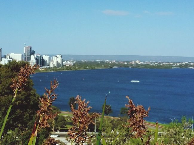 River Water Clear Sky Outdoors Urban Skyline Architecture Horizon Over Water Beauty In Nature Australia Perthlife Perth WA B1trider Mj Blue Nature