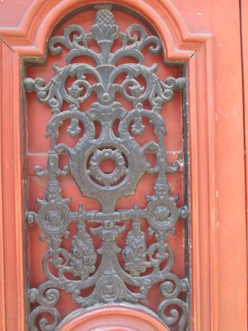 Architecture Building Exterior Close-up Closed Day Design Detail From An Old Door Door Door Knocker Full Frame Interesting Ornaments Iron Ornaments Multi Colored No People Old Beauty Old Building  Old Door Old Style Ornaments Outdoors Pattern Red Red Door Romantic Old Door Sophistication