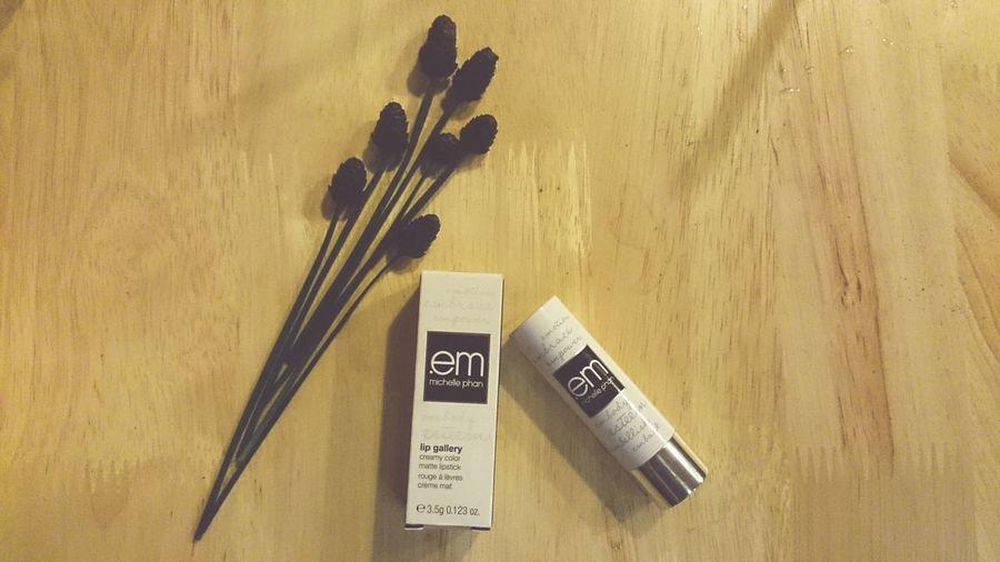 "I love ""em"" hihi Cosmetics Michellephan Lipstick Wine Stain Red Lipstick"