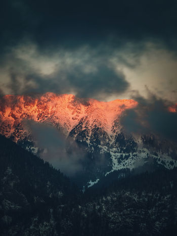 Landscape_Collection Mountain View Nature Sunrise_Collection Beauty In Nature Beauty In Nature Cloud - Sky Day Landscape Mountain Mountain Peak Mountain Range Mountains Nature Nature_collection No People Outdoors Power In Nature Scenery Scenics Sky Storm Cloud Sunrise Sunrise_sunsets_aroundworld Tree