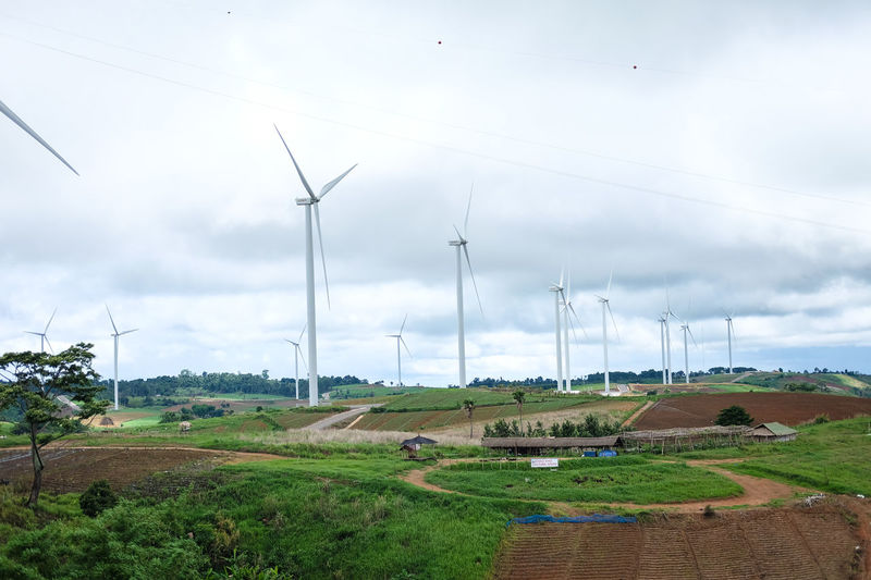 Wind power for