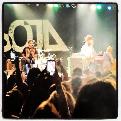 Soja in the AZ. Reggae Calireggae Tempearizona Live arizona concert themarquee sojagram @katherine_kaye