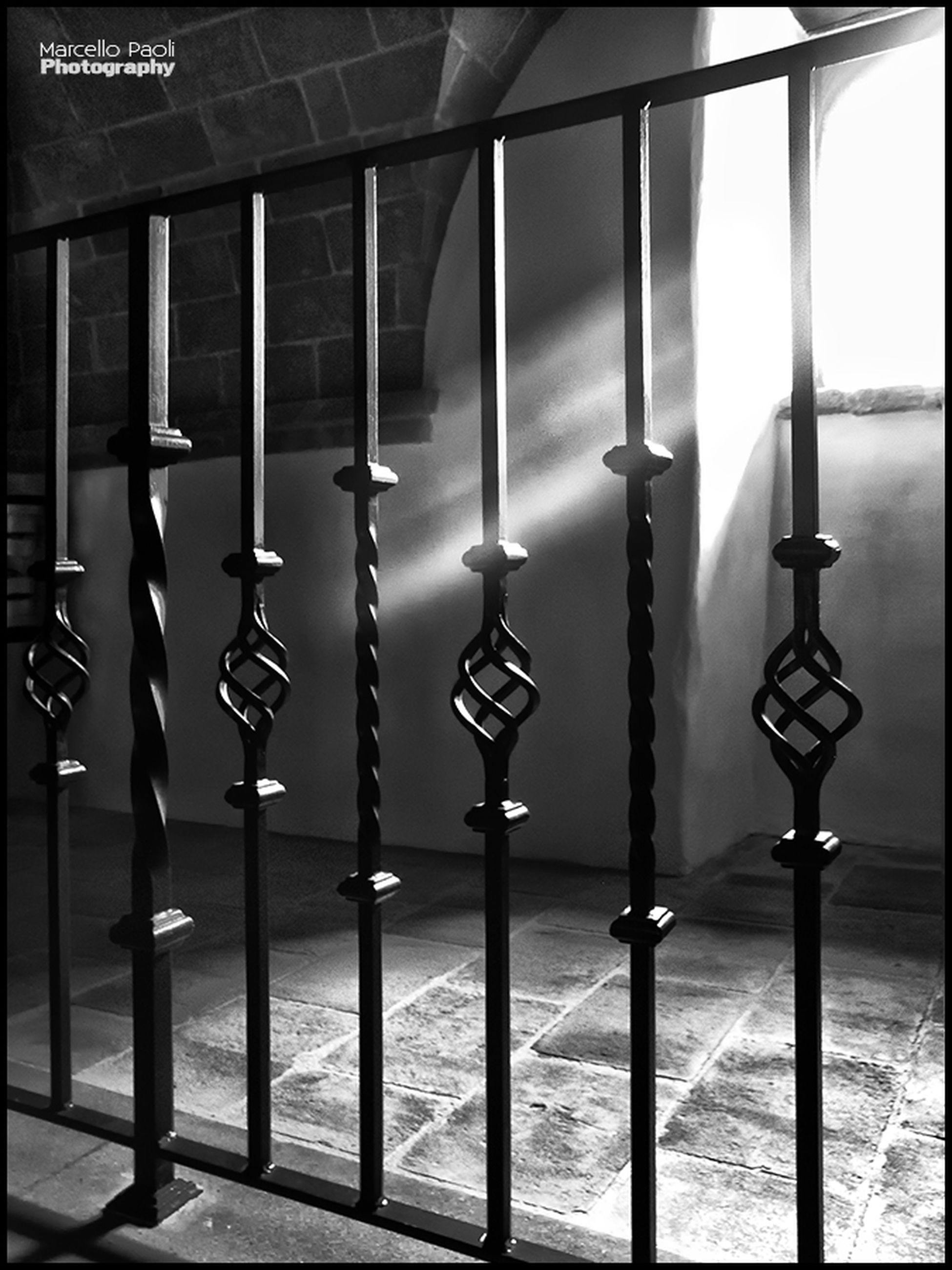 metal, built structure, architectural column, architecture, protection, safety, security, in a row, no people, metallic, pole, day, text, connection, railing, column, fence, outdoors, close-up, sunlight