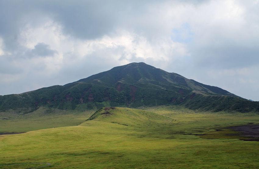 Aso Geology Green Japan Japanese  KYUSHU Landscape Mount Aso Mountain Mt. Aso Nature Volcano