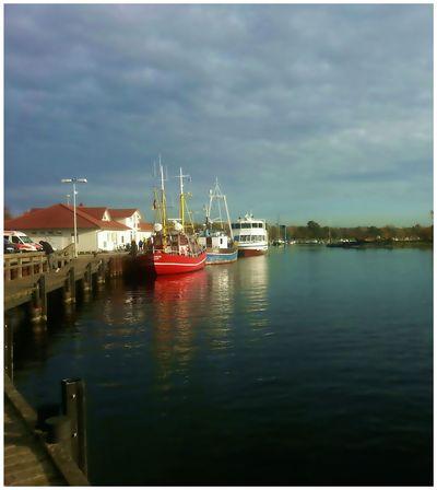 From My Point Of View Island Germany Rügen Seaside Baltic Sea Ostsee 😎 Fisher Boats Harbour Water Sea Showcase July Baltic Summer ☀ Taking Photos Eye4photography  Summer Views Tadaa Community Hello World Hello Friends Check This Out Hanging Out Beautiful Sea And Sky Nature