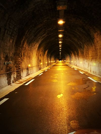 Light At The End Of The Tunnel Tunnel Tunnels NightRoad Night Franchecomte Creepy Nightphotography Darkness And Light Dark