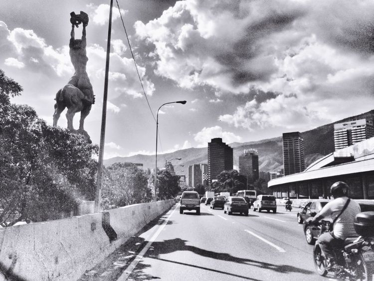 Caracas Caracas City Cities_bnw Monochrome Blackandwhite Black & White Black And White Iphoneonly IPhone IPhoneography