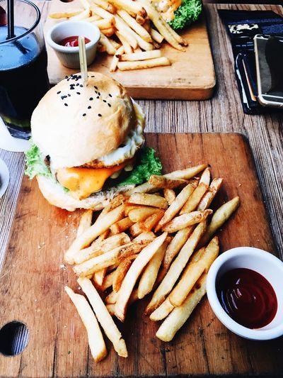 Burger Food Fries Hajilane