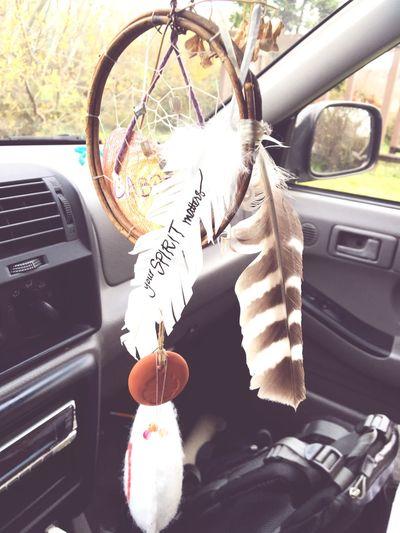 Your spirit matters Car Decor Feathers Style Lifestyles Spirit Car Transportation Travel Car Interior