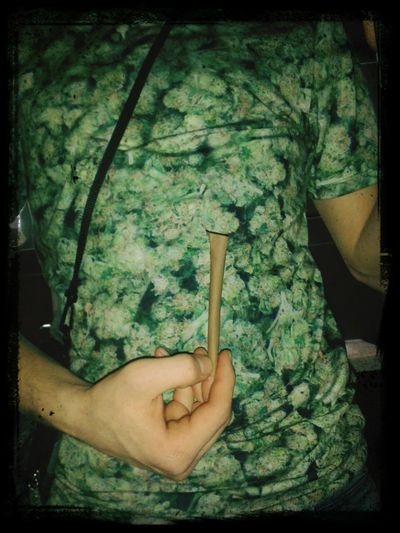 Weed smoke trip