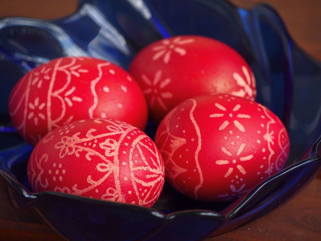 Celebration Close-up Day Easter Easter Egg Easter Eggs Easter Ready Easter Traditions Food Freshness Holiday - Event Hungarian Tradition Hungary Indoors  No People Red Red Eggs