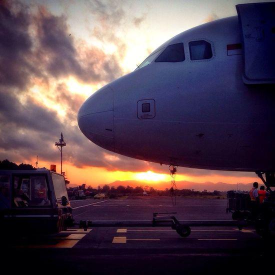 Ready to go Travelling EyeEm Best Shots - Sunsets + Sunrise Hello World Plane
