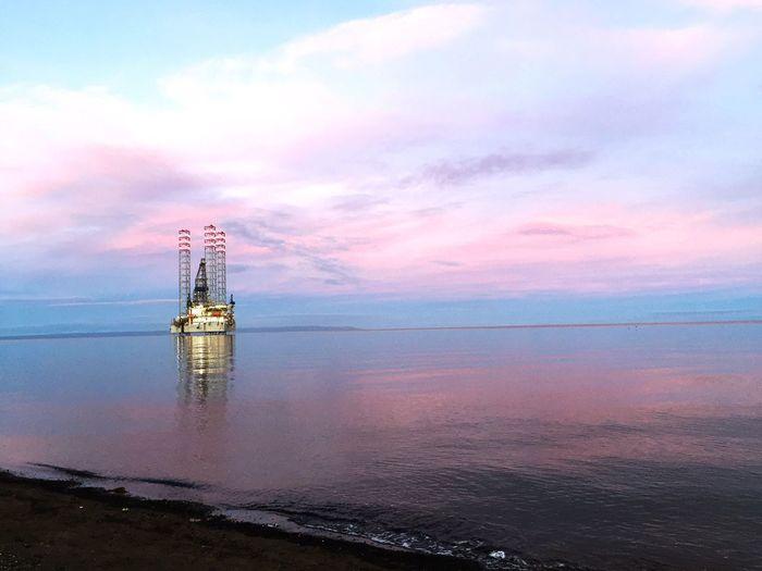 Petrolera Petroleo Punta Arenas Beach XII Región