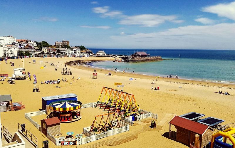 Broadstairs Beach Sea Sand Vacations Summer Travel Destinations Outdoors Tourism First Eyeem Photo