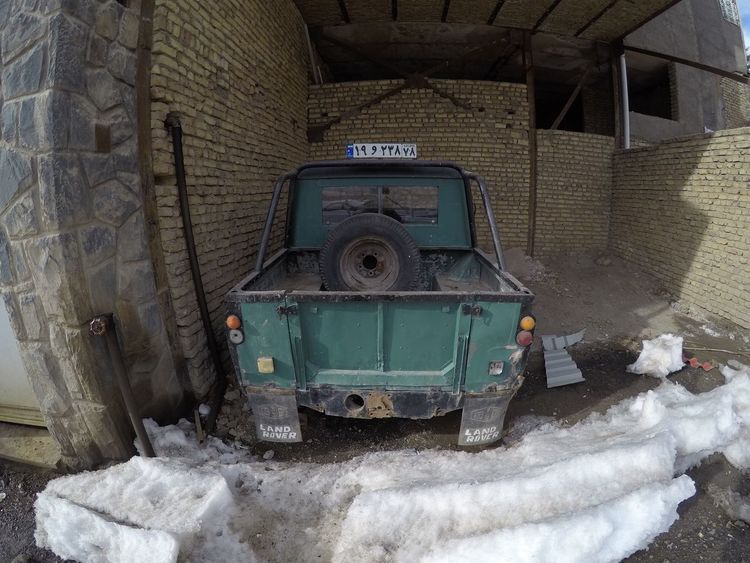 Weather Sky Cold Temperature Winter Built Structure Outdoors Mountain Snow Shemshak Car Iran