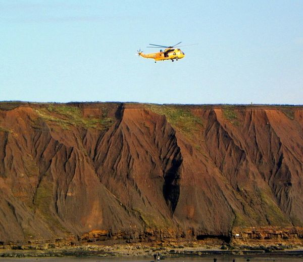 Helicopter Cliffside Rescues