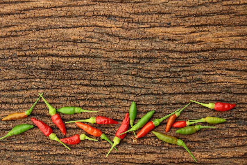 Bangkok Thailand. Macro Photography Thailand Vegetarian Food Agriculture Photography Background Backgrounds Chilli Close-up Day Food Food And Drink Freshness Healthy Eating High Angle View Indoors  Nature No People Red Spice Table Thailand_allshots Vegetable Wood - Material Wooden
