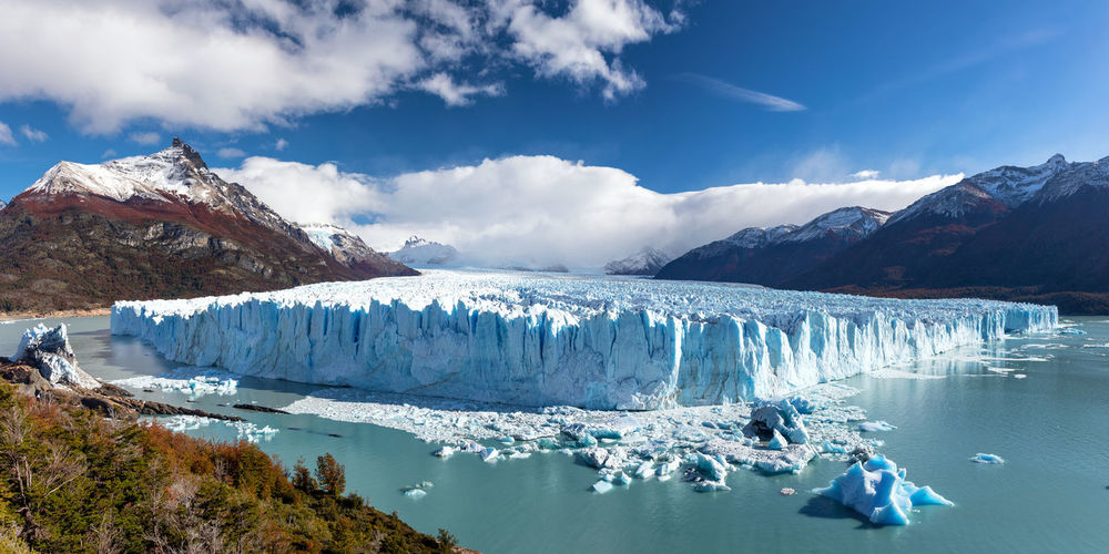 Panorama of the Perito Moreno Glacier, Patagonia, Argentina IceField Icebergs Los Glaciares National Park Perito Moreno Glacier Perito Moreno. Patagonia. Argentina. Argentina Beauty In Nature Frozen Glacier Ice Iceberg Iceberg - Ice Formation Landscape Patagonia Scenics - Nature South America