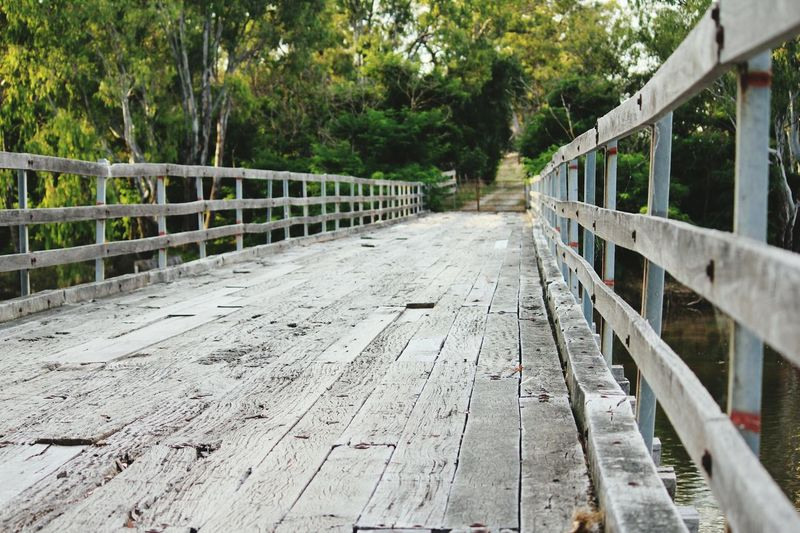 Timber Bridge Railing Bridge - Man Made Structure Wooden Bridge Outdoors Man Made Structure Timber Railing Timber Structure Old Bridges