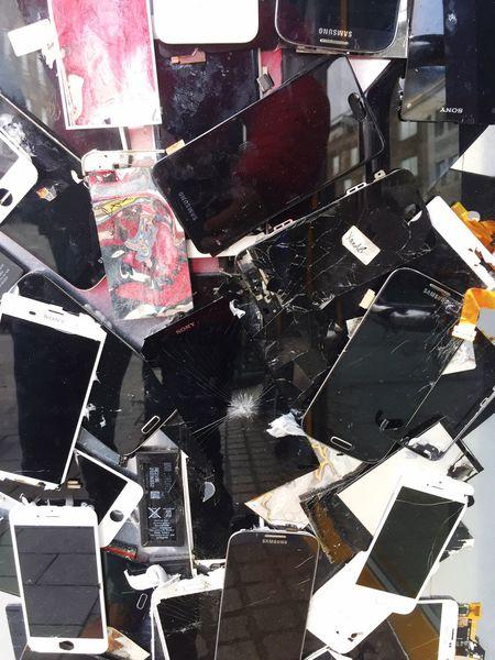 Mobile Phone Dead Phones Old Phones Junk Scrap Recycle