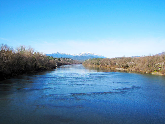 """The River"" Beauty In Nature Countryside Distant Lake Majestic Mountain Mountain Range Nature Non-urban Scene Northern California Outdoors Redding, Ca Reflection Remote River Sacramento River Sacramento Valley Scenics Shasta Dam Tranquil Scene Tranquility Water Waterfront"