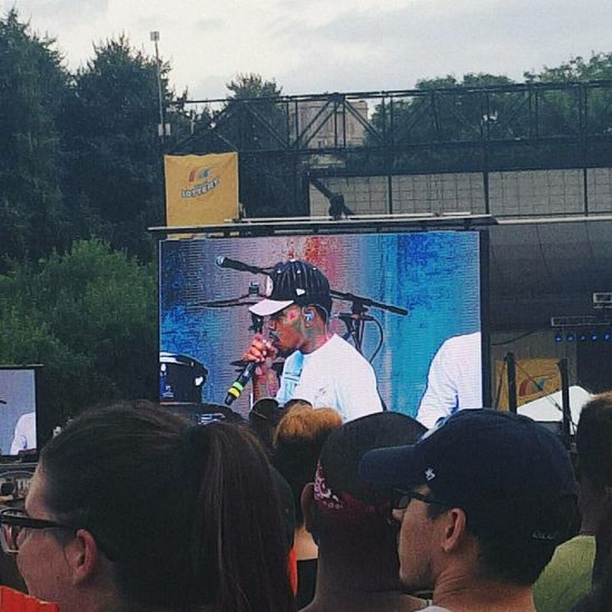 Internet Chance Chance The Rapper Chancetherapper Tasteofchicago Performance Arts Culture And Entertainment EyeEmNewHere