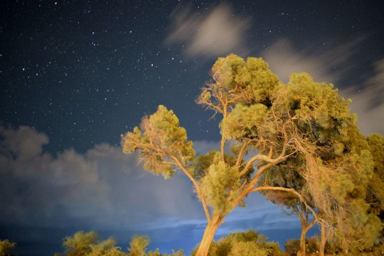 Tranquil Scene Beauty In Nature Sky No People Taking Pictures Clouds And Sky Skynightphotography Starry Night Nature Eyeem Tunisia