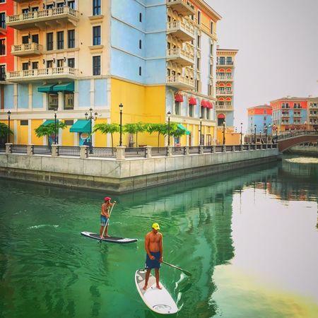 Qanat Quartier Hobby Men Outdoors Leisure Activity Standing Water