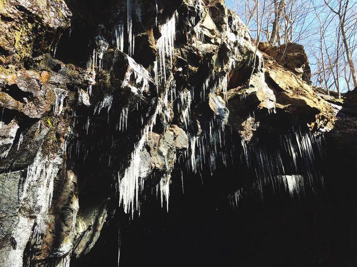 I've at the cave enterence. Hiking Cave Entrance Hariman Woods Forest Vegan Inspiration Peace Motivation