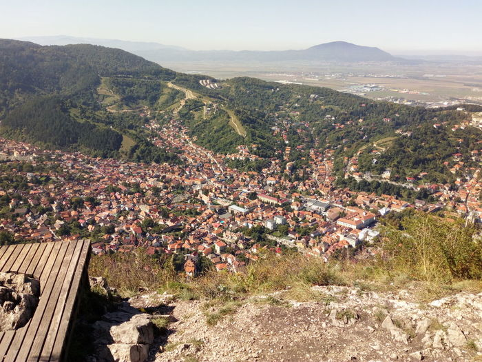 Brasov city view City Above City View  EyeEm Selects Tree Mountain Rural Scene Sky Landscape