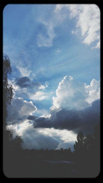 Summer evening sky Enjoying Life Summer Sky And Clouds