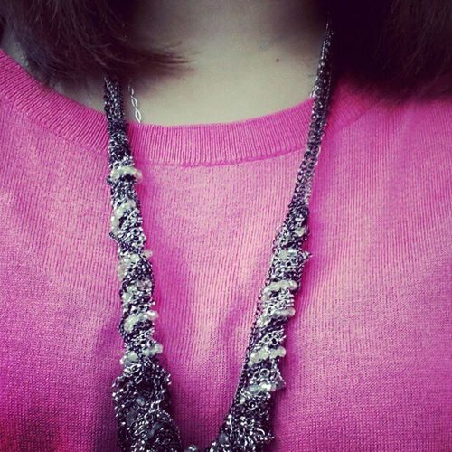 I'm dressed in pink today, are you? Pink Instadaily Breastcancerawareness Philanthropy