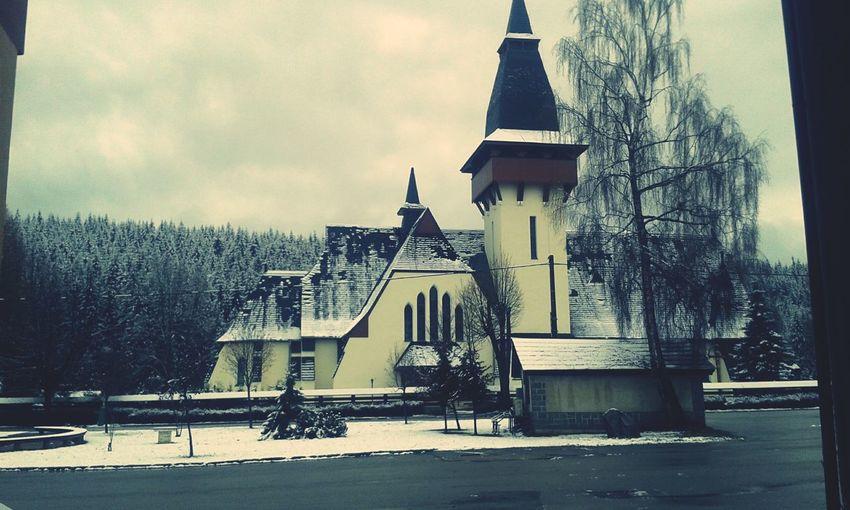 My Best Photo 2015 Church Orava Slovakia Oravskalesna Myphoto Centre Village Village Life