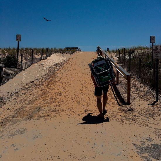 Walk to beach -