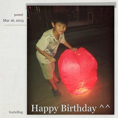 HappyBirthday 生日快乐 12age Bro asianboyinstaphotogoodluck for UPSR. 拼立得iPhone版 @fotorus_official