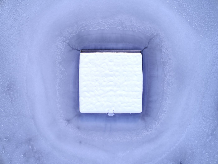 Ice Winter Birdseyeview Bluewater Cold Temperature Dronephotography Frozen Lake No People Snow Winter