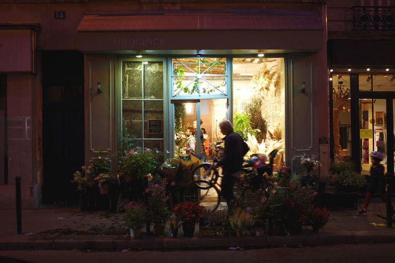 Flower shop at