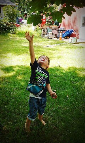 Moon Pie Zephyr Moon Grandson Love ♥ Toddler  Reaching Childhood Innocence Miss U