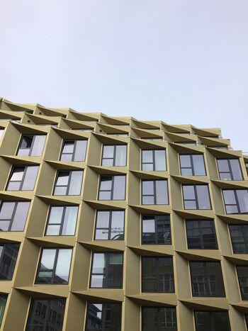 Cool/Random Apartment Building in Berlin-Mitte (Chausseestraße). Architecture Façade