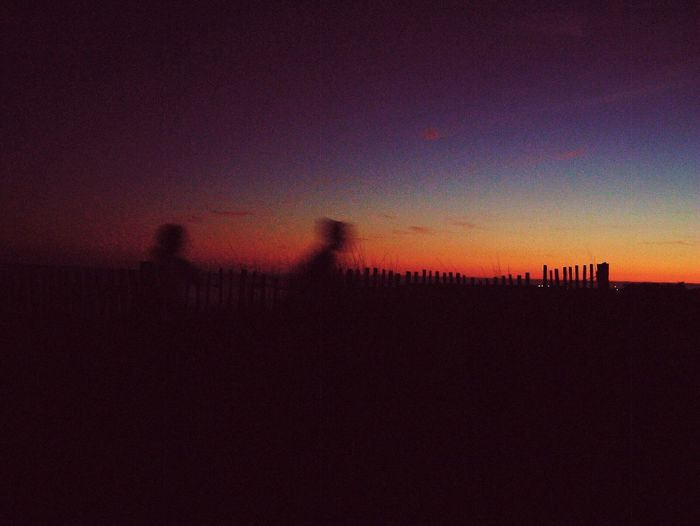 Walking home from the beach Beach Nature Sky Sunset Outdoors EyeEm Nature Lover EyeEm Best Shots