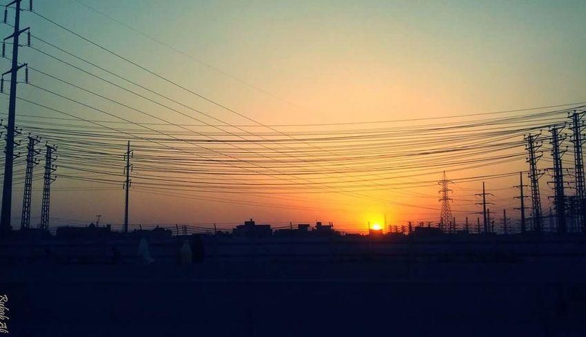 Sunset Evening Sky Settingsun Melancholy Peace And Quiet Silence