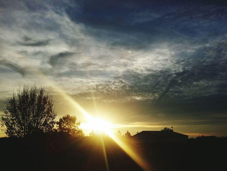Freelance Life Sunset Sunset #sun #clouds #skylovers #sky #nature #beautifulinnature #naturalbeauty #photography #landscape