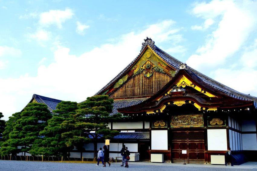 Showcase: January 2016 Kyoto Japan Nijo Castle Sky