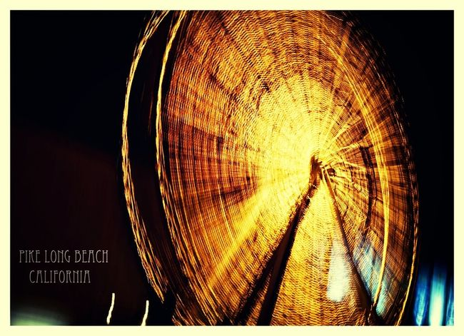 Faris Wheel Nightphotography California City Life
